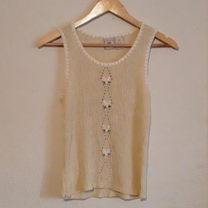 MAURICES Silk Sweater Knit Tank Top